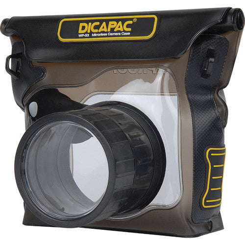 Dicapac WP-S3 DSLR Camera Case Bruin