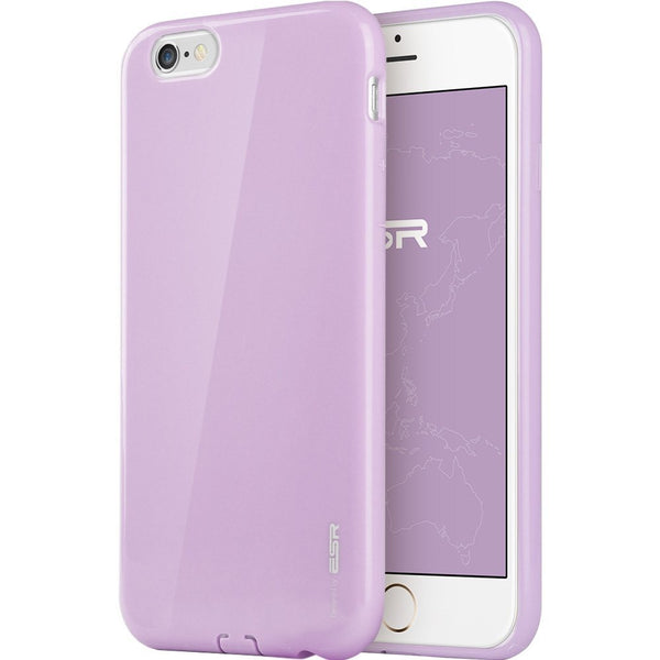 iPhone 6/6s Plus Silicon Color Case (Vibrant Paars)