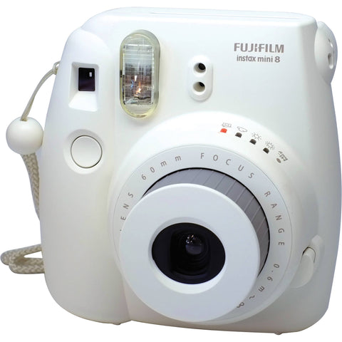 Fuji Film Instax Mini 8 Wit Instant Camera