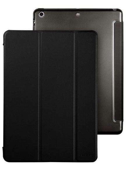 iPad Mini 1,2,3 Flip Cover met Harde achterzijdee (Zwart Magic)