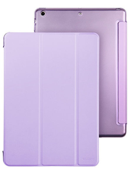 iPad Mini 1,2,3 Flip Cover met Harde achterzijde (Vibrant Purple)