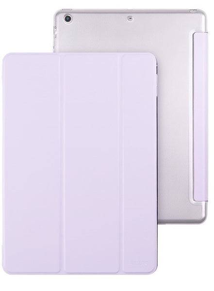 iPad Mini 1,2,3 Flip Cover met Harde achterzijde (Powder Taro)