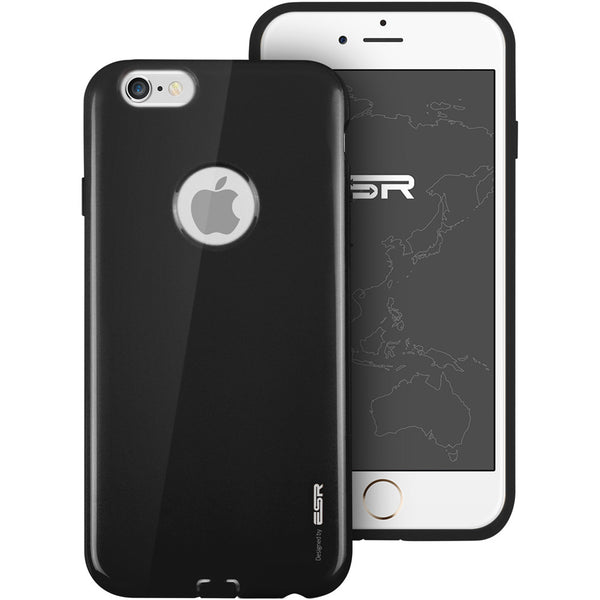 iPhone 6/6s Silicon Color Case (Zwart Magic)