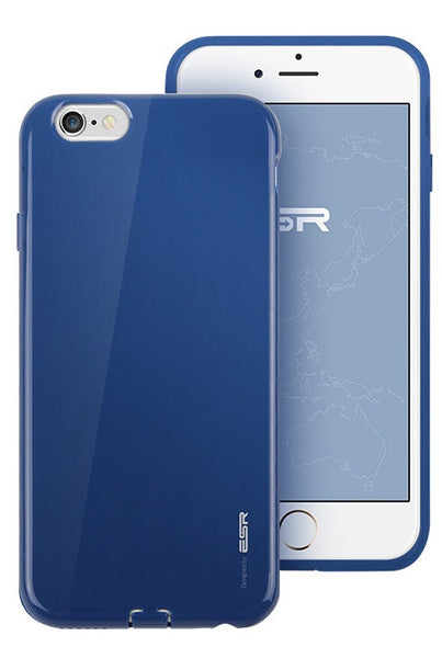 iPhone 6/6s Silicon Color Case (Sailor Blauw)
