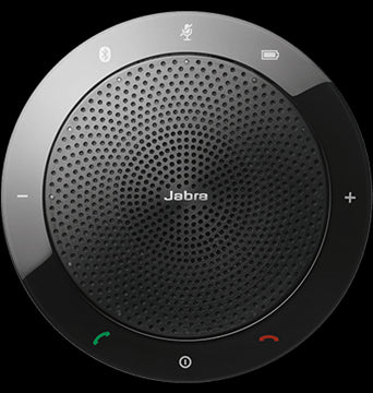 Jabra Speak 510 Bluetooth and USB Luidsprekertelefoon Zwart