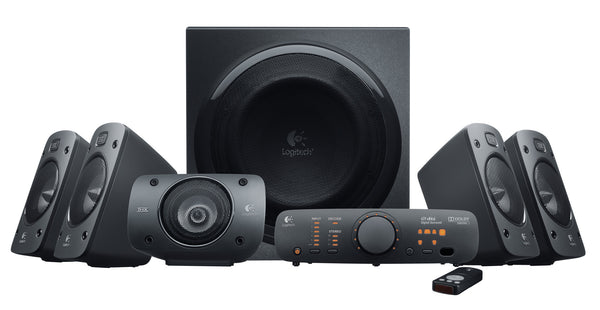 Logitech Z906 Surround Sound Speakers (Zwart) 980-000469
