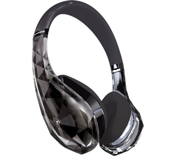 Monster Diamond Tears Edge Zwarte On-Ear Koptelefoon