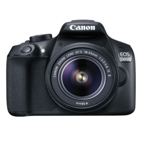 Canon EOS 1300D con EF-S 18-55 IS II Lente (Caja Kit)