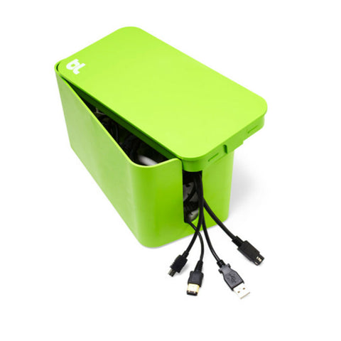 BlueLounge Caja de Cable Mini CBM-GRN (Verde)