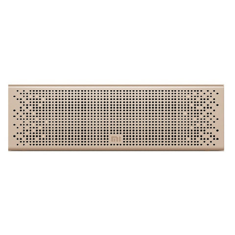 Xiaomi Mi Altavoz con Bluetooth (Color Oro)