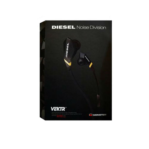Monster Cable Diesel Audífonos con Talk Control (Negro)
