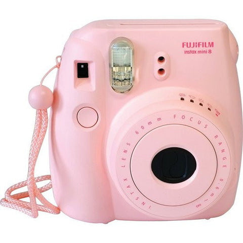 Fuji Film Instax Mini 8 rosado Instant Camera