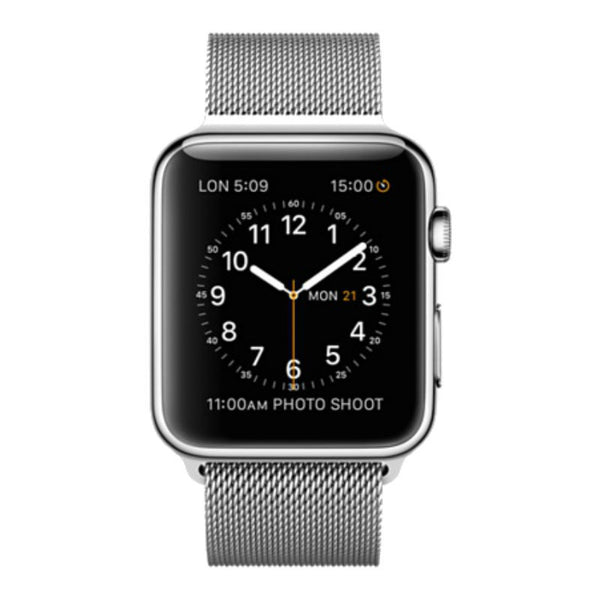 Apple Watch 42mm Carcasa de Acero Inoxidable Milanese Loop ML3Y2 (Plateado)