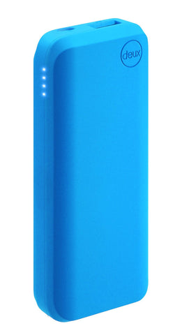 amuse Deux 6000 mAh Polymer Power Bank (Denim azul)