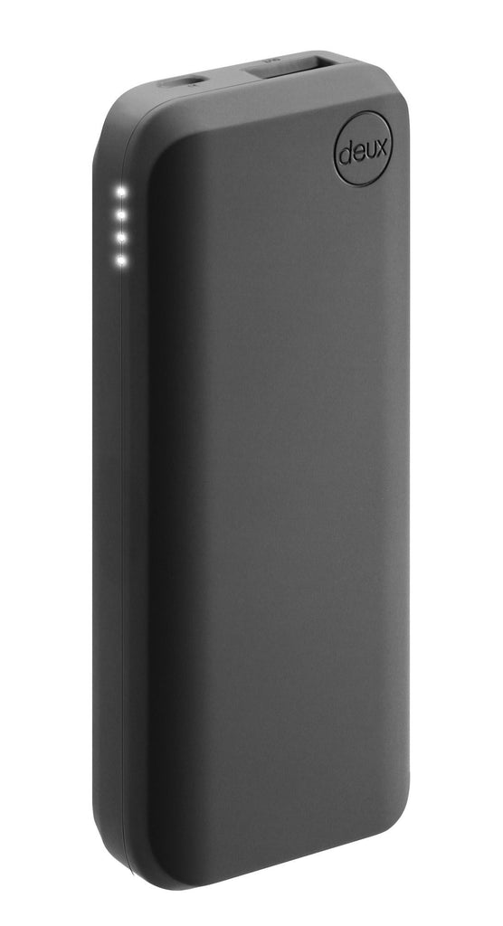 amuse Deux 6000 mAh Polymer Power Bank (Matte Negro)