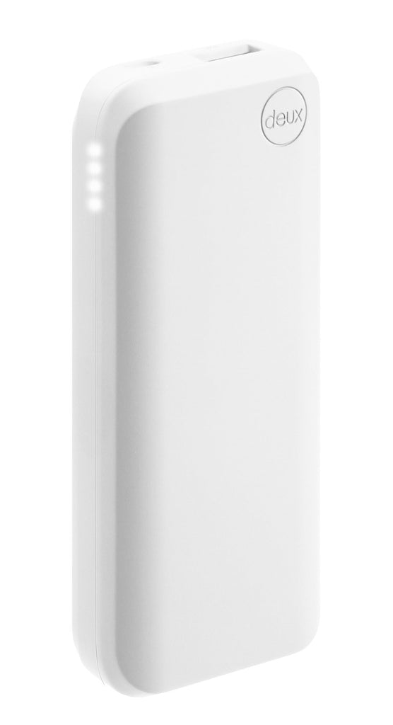 amuse Deux 6000 mAh Polymer Power Bank (Pure Blanco)