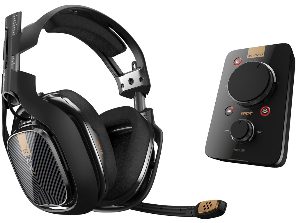 Astro A40 TR Gaming Auricularesy MixAmp Pro para PS4/PS3/PC (Negro)