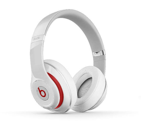 Beats Studio 2013 Blanco en la oreja Headphone
