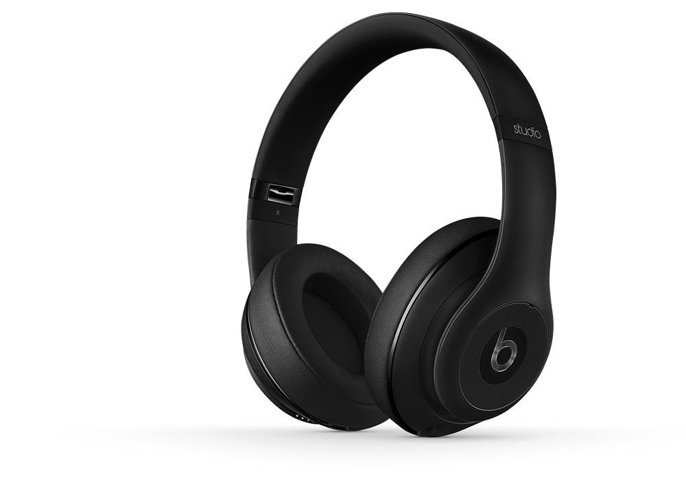 Beats nuevo Studio Matte Negro Over Ear Heaphone