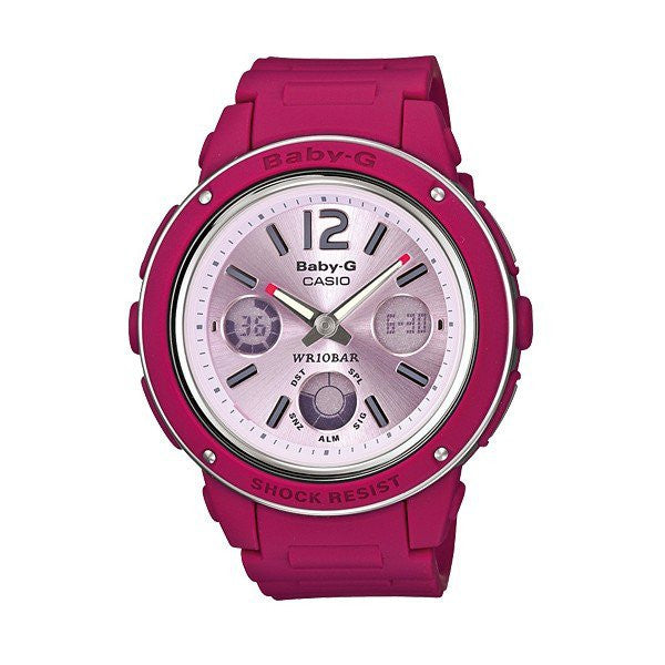 Casio Baby-G Analog-Digital BGA-150-4B reloj (nuevo conTags)