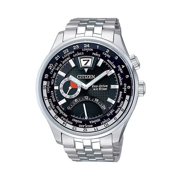 Citizen Eco-Drive Retrograde BR0015-52E reloj (nuevo conTags)