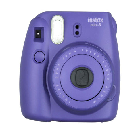 Fuji Film Instax Mini 8 Grape Cámara Instantánea