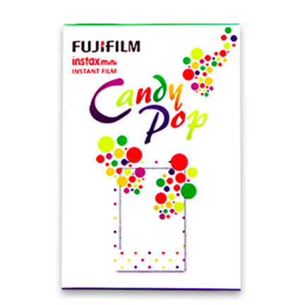 Fuji Mini Film (Candy Pop) Papel fotográfico