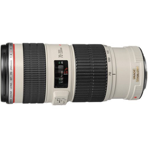 Canon EF 70-200mm f/4L IS USM Blanco Lentes