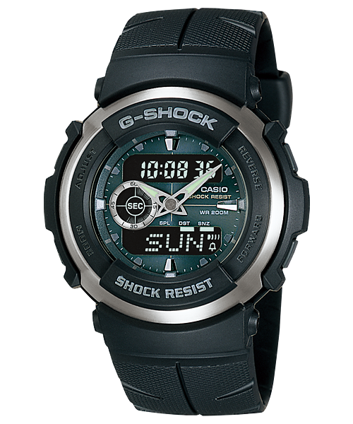 Casio G-Shock Estándar Analog-Digital G-300-3AVDR reloj (nuevo with