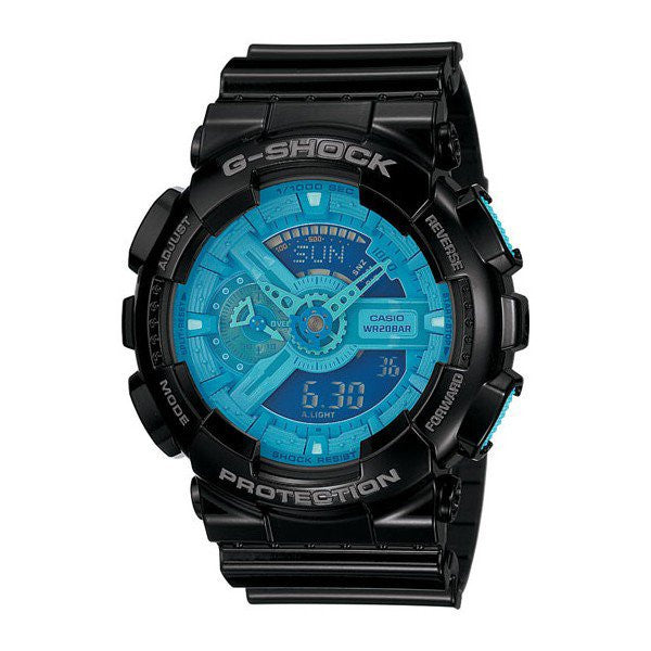 Casio G-Shock Estándar Analog Digital GA-110B-1A2 reloj (nuevo with