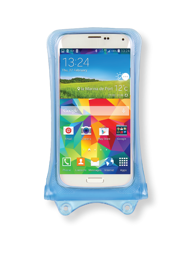 Dicapac WP-C1 iPhone 5 Impermeable Caso (azul)