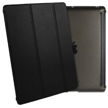 iPad Mini 4 Flip Cover conSoft silicio Edge trasera dura Caso (Quiet