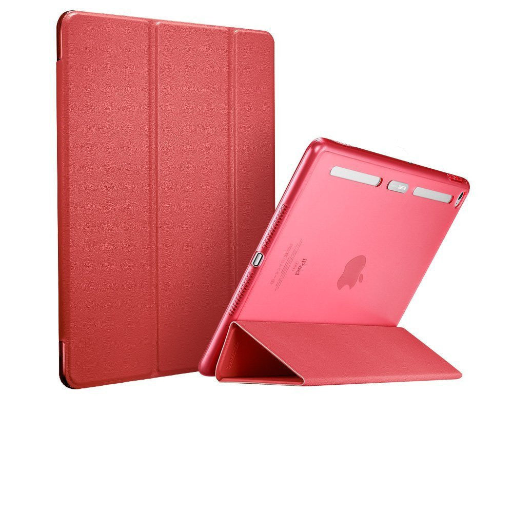 iPad Air 2 Flip cover conSoft silicio Edge trasera dura Caso (Energy