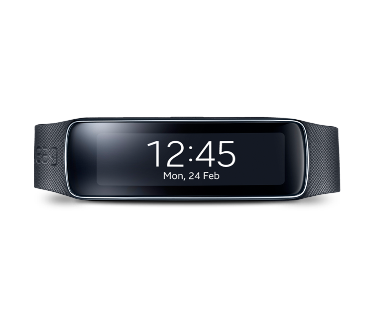 Samsung Galaxy Gear Fit R3500 Charcoal Negro