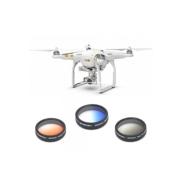 Freewell Graduated Filter Set para DJI Phantom 3 Pro/Adv