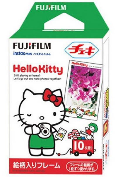 Fuji Mini Film (Hello Kitty) Papel fotográfico