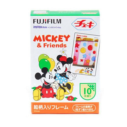 Fuji Mini Film (Mickey) Papel fotográfico