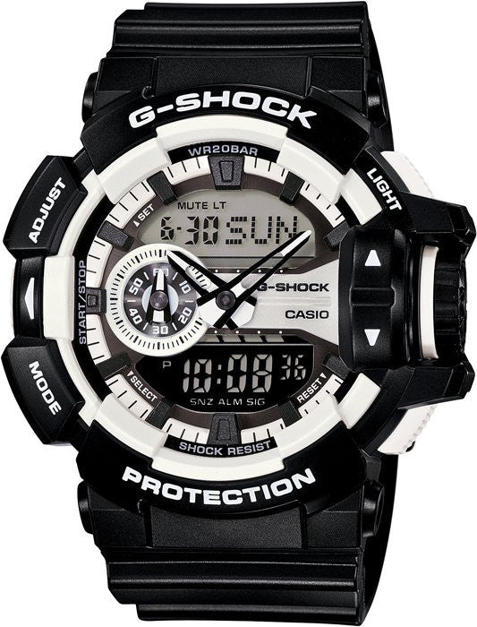Casio G-Shock Analog-Digital GA-400-1A reloj (nuevo conTags)