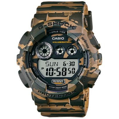 Casio G-Shock Camo Analog-Digital GD-120CM-5 reloj (nuevo conTags)