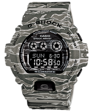 Casio G-Shock Camouflage Digital GD-X6900CM-8 reloj (nuevo conTags)