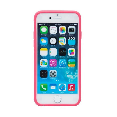 Odoyo Carcasa Protectora con Borde Antiresbalante para iPhone 6S Plus PH3331 (Rosado Rubor)