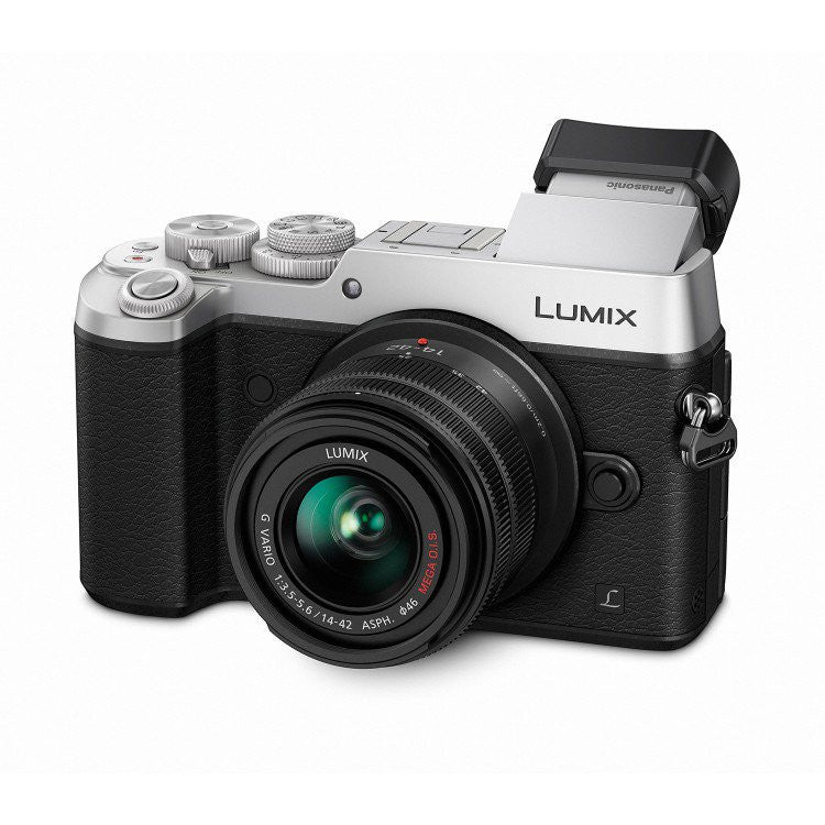 Panasonic Lumix DMC-GX8K con14-42mm plata Mirrorless cámara digital
