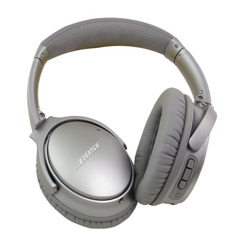 Bose Quietcomfort 35 (QC35) Auriculares inalámbricos para Apple y Android (Plata)