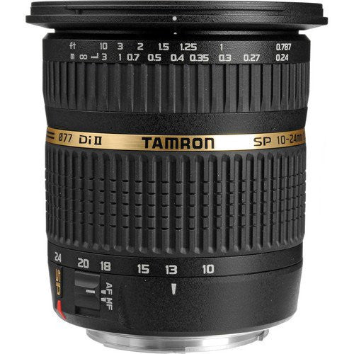 Tamron SP AF 10-24mm f3.5-4.5 Di II LD Aspherical IF Lentes (Canon)
