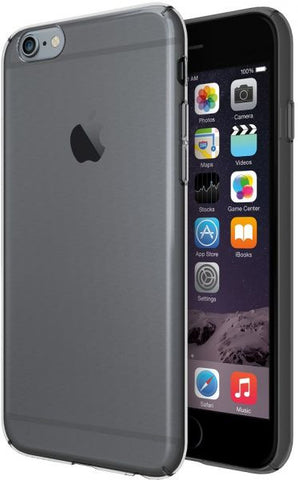 Odoyo Carcasa Protectora con Borde Antiresbalante para iPhone 6S Plus PH3336 (Negro Cristal)