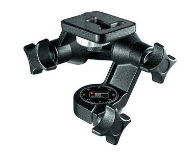 Manfrotto 058B Triaut Camera trípode Negro