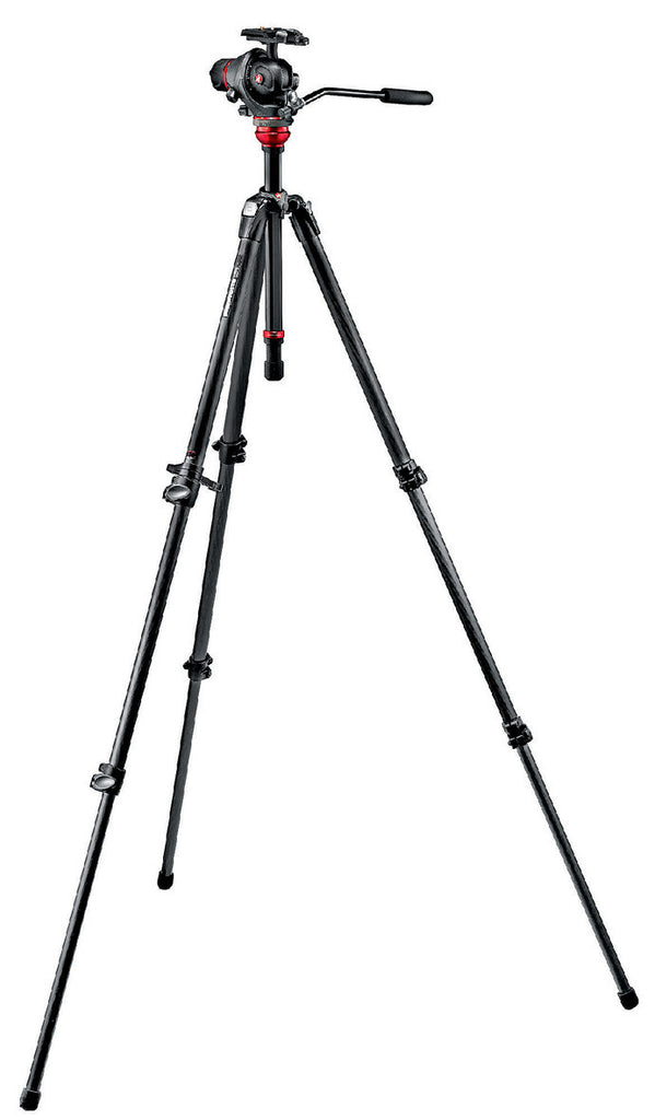 Manfrotto 755CX3-M8Q5 trípode Kit conPhoto Movie Head