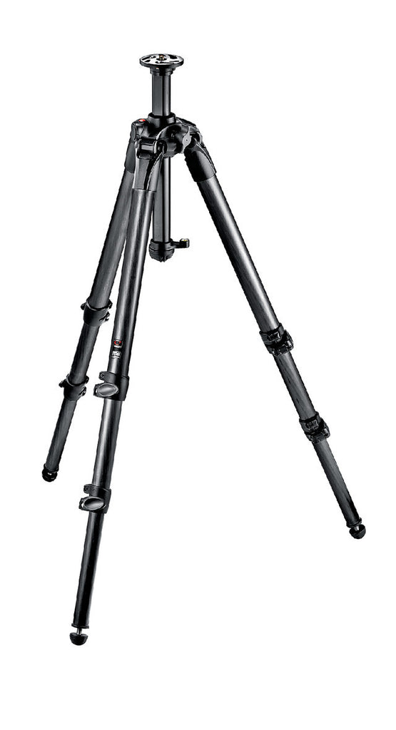 Manfrotto MT057C3 057 Carbon Fibre trípode-3S