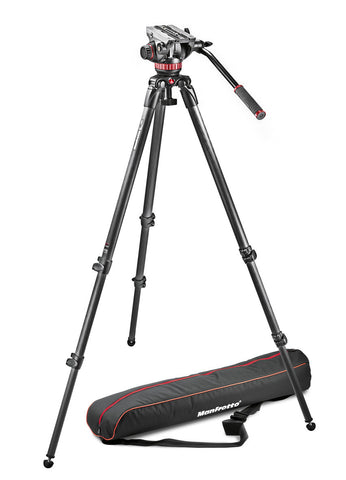 Manfrotto MVK502C-1 Sistema de Video Profesional de Carbono - 4KG