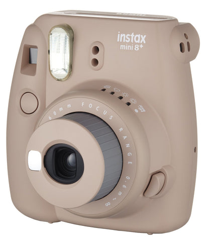 Fuji Film Instax Mini 8 Plus Cocoa Instant Camera